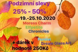 Podzimní SLEVY 19.-25.10.2020