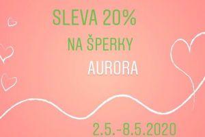 Sleva 20% Aurora Charm